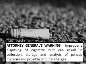 cigarette warning label